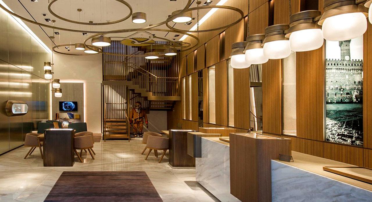 Officine Panerai flagship store, Miami 2015