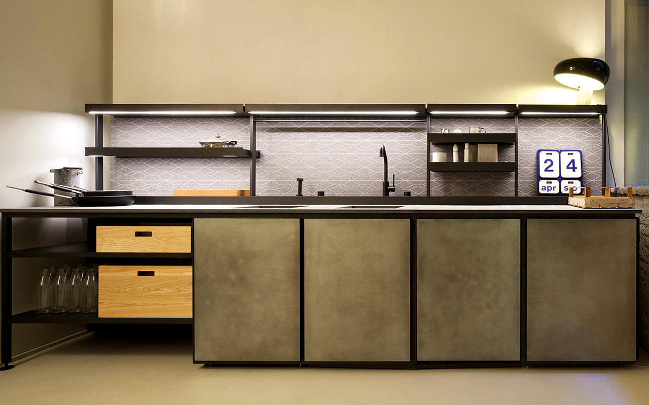 Salinas cucina/kitchen, Boffi 2014